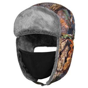 CHAPEAU - BOB Vbiger Chapeau de chasse d hiver Chapeau de trappe ... f0ff49e6f39