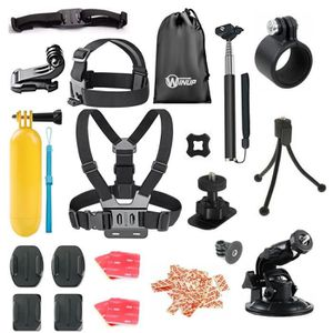 PACK CAMERA SPORT Pack Accessoires Supports Fixations pour caméra Go