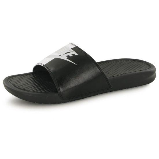 Nike Benassi Jdi noir, sandales / tongs homme Noir Noir - Achat / Vente basket