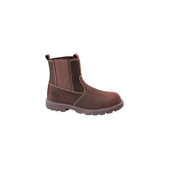 691f8a7896f22f Boots de travail VERDON cousu Goodyear - SOLIDUR Marron Marron - Achat /  Vente bottine - Soldes d'été dès le 26 juin Cdiscount