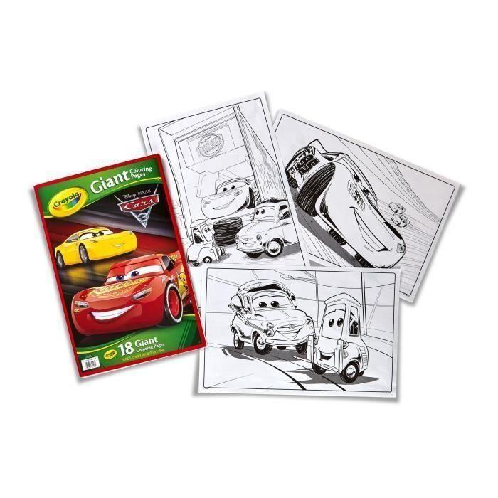 CARS 3 Pages Géantes à Colorier