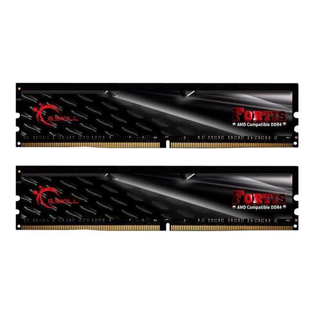 DDR4 - Kit 16 Go (2 x 8 Go) - 2400 MHz - C15-15-15-39 - 1.2VMEMOIRE PC - PORTABLE
