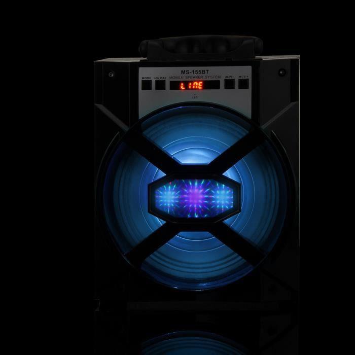 Portable Sans Fil Bluetooth Sport Haut-parleur Super Bass Avec Radio Usb - Tf Aux Fm_ma11561