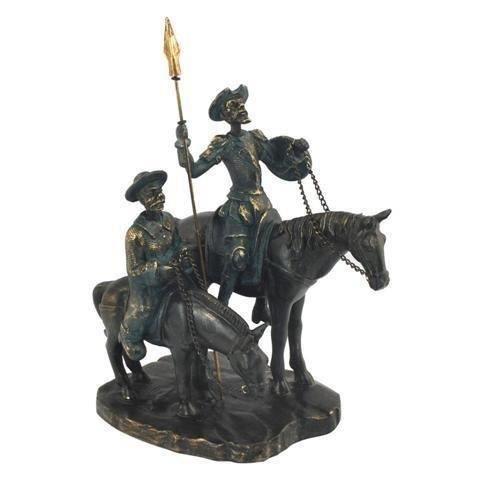 Figurine Don Quichotte et Sancho 22 cm - Achat / Vente statue ...
