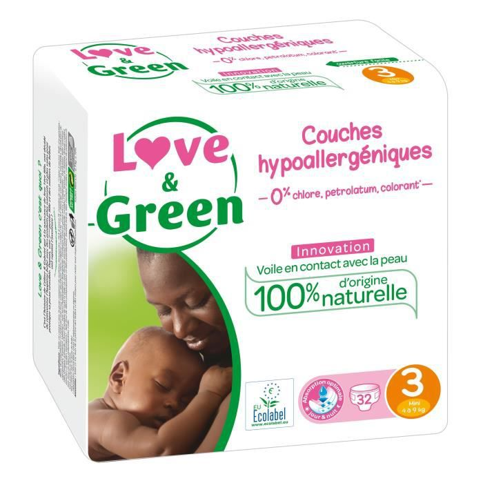 Love And Green Couches Ecologiques Hypoallergéniques 0 Taille 3