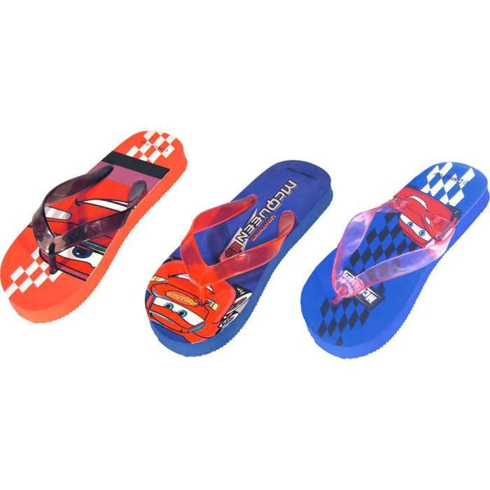 TONG CARS Tong sandale pour enfant