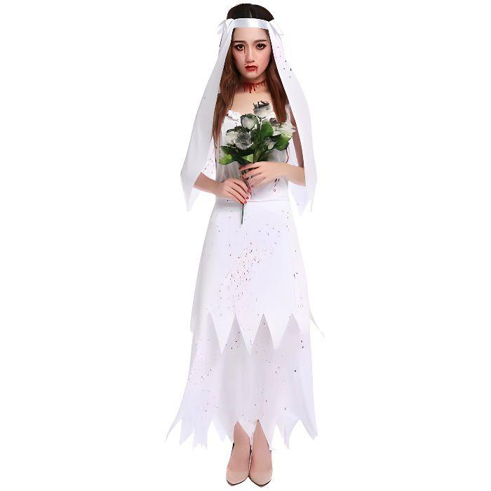 Deguisement robe de mariee 6 ans - Deguisement halloween mariee ...