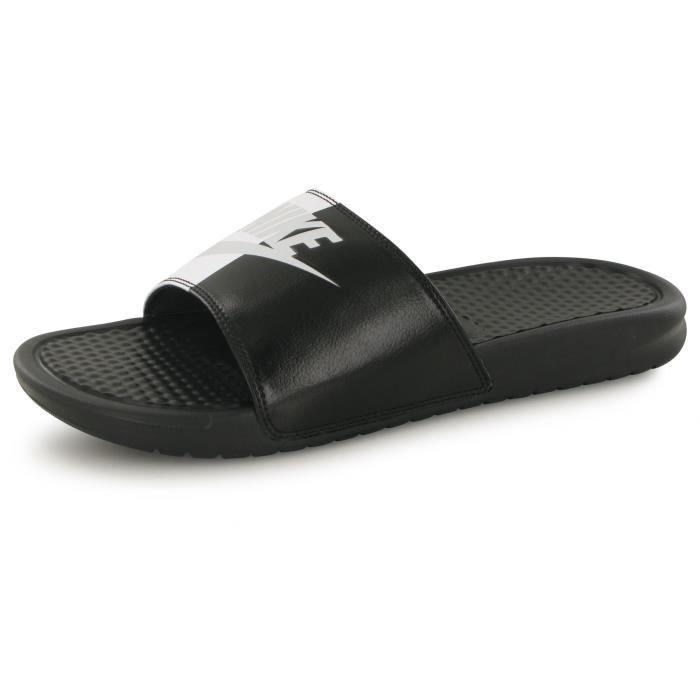 e9a3f836e59 BASKET Nike Benassi Jdi noir