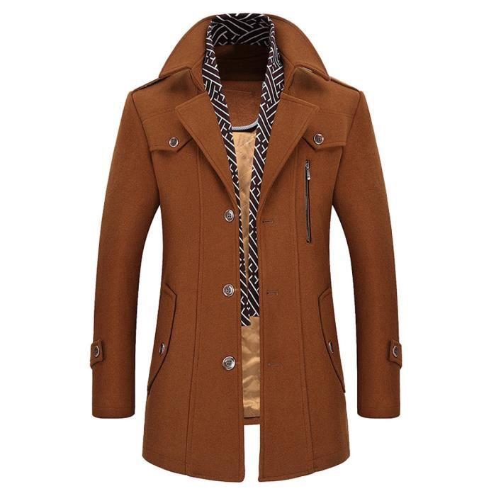 Manteau laine homme - Achat   Vente pas cher 925507de5ed