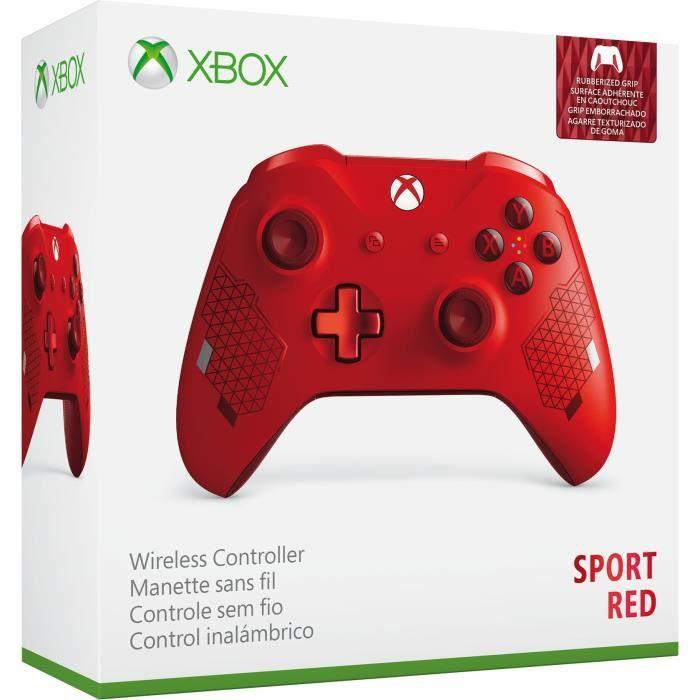 MANETTE JEUX VIDÉO Manette Xbox One Sans Fil Edition Spéciale Sport R