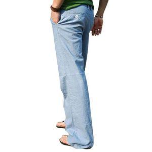 d0f96be92026 Pantalon homme en lin - Achat   Vente Pantalon homme en lin pas cher ...
