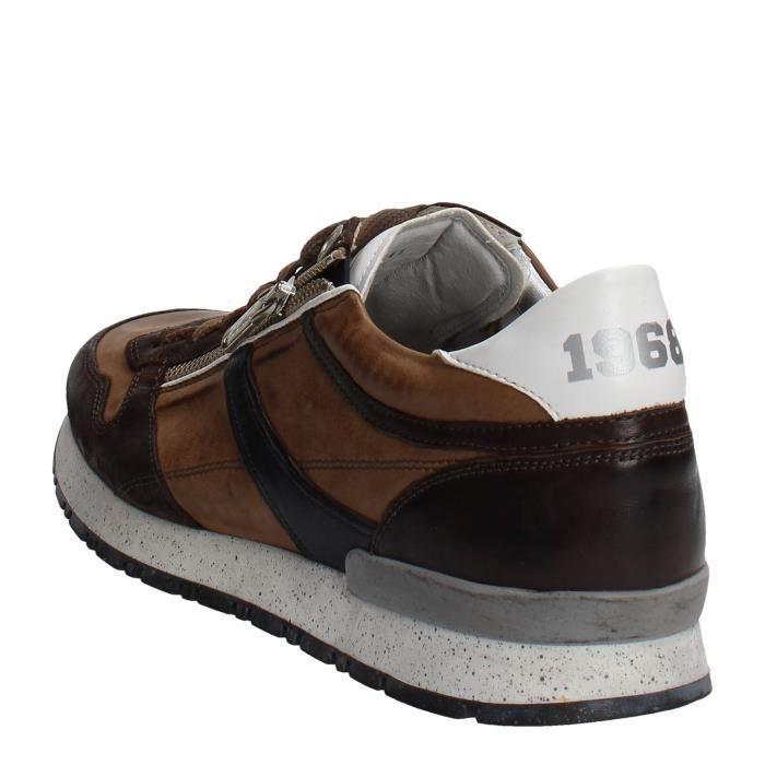 DicoSneakers Homme Marron, 45