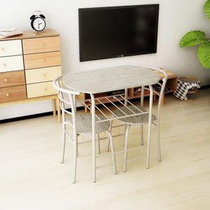 petite table de cuisine et chaises achat vente petite table de cuisine et chaises pas cher. Black Bedroom Furniture Sets. Home Design Ideas