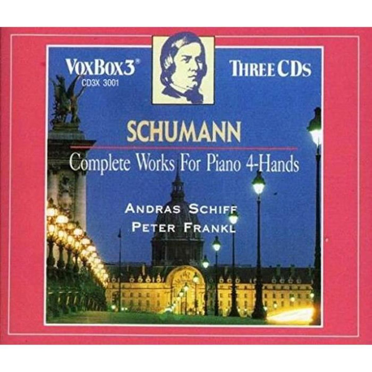 CD MUSIQUE CLASSIQUE VOX - Complete Works For Piano for 4 Hands CD Viny