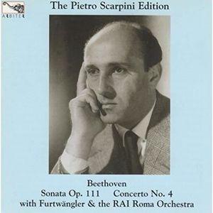 PARTITION Sonate pour piano, op. 111 ; Concerto pour piano n