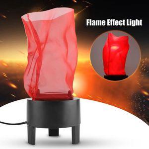 LAMPE ET SPOT DE SCÈNE LED Flame Effect Light Simulé Fire Bowl Base Party