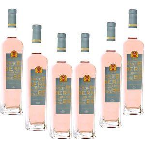VIN ROSÉ Lot de 6 Terre de Berne Rosé Côtes de Provence 201