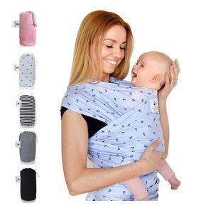 ÉCHARPE DE PORTAGE »Fastique Kids« Écharpe porte-bébé en coton nature