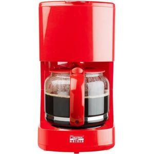 CAFETIÈRE BESTRON ACM300HR Cafetière filtre - Rouge