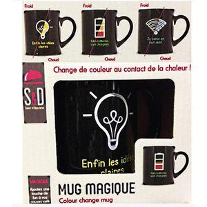 BOL - MUG - MAZAGRAN 1 MUG MAGIQUE CHANGE DE COULEUR A LA CHALEUR VAISS