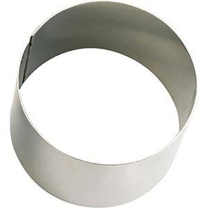 EMPORTE-PIÈCE  DE BUYER Cercle Collectivite - Ø 12 cm Argenté