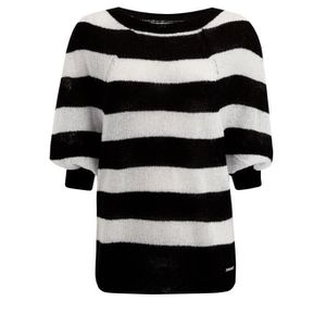 PULL Pull rayé Mohair Femmes 3DORD7 Taille-36