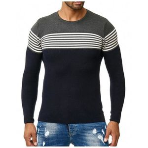 Pull marin homme raye - Achat   Vente pas cher 1420c17d7654