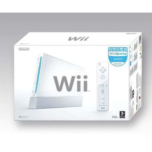 CONSOLE WII CONSOLE XII BLANCHE + Wii sports