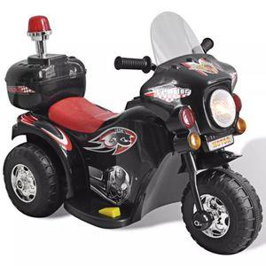 MOTO Motocyclette enfant à batterie Moto enfant Noir Jo