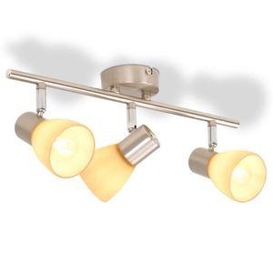LED Deckenleuchte Ruth Lampenwelt Indirektes Licht Nickel Matt Deckenlampe LEDs