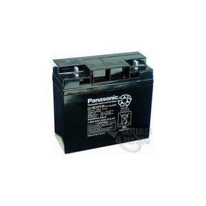 BATTERIE DOMOTIQUE Batterie Plomb Panasonic 12V 17Ah LC-RD1217P