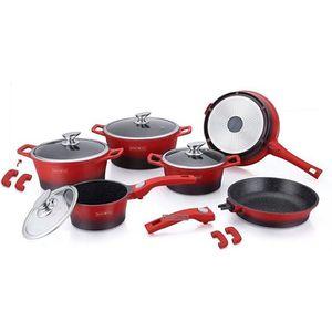 batterie de cuisine pierre achat vente batterie de cuisine pierre pas cher cdiscount. Black Bedroom Furniture Sets. Home Design Ideas