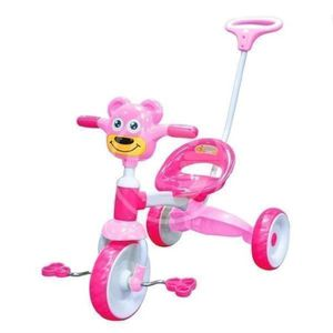 TRICYCLE TRICYCLE POIGNEE ROSE PAVOT avec 812
