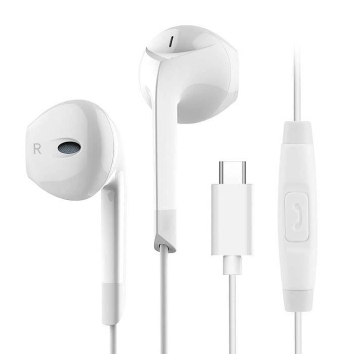 CABLING® USB C Écouteurs Type C Casque Sté