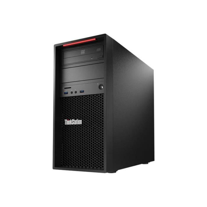 Lenovo ThinkStation P320 30BH Tour 1 x Xeon E3-1225V6 - 3.3 GHz RAM 8 Go  HDD 1 To graveur de DVD HD Graphics P630 GigE Win 10… abf15e4cc621
