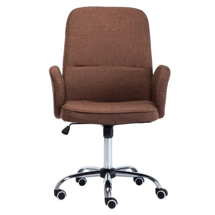 Chaise De Bureau Avec Accoudoirs Pivotant 360