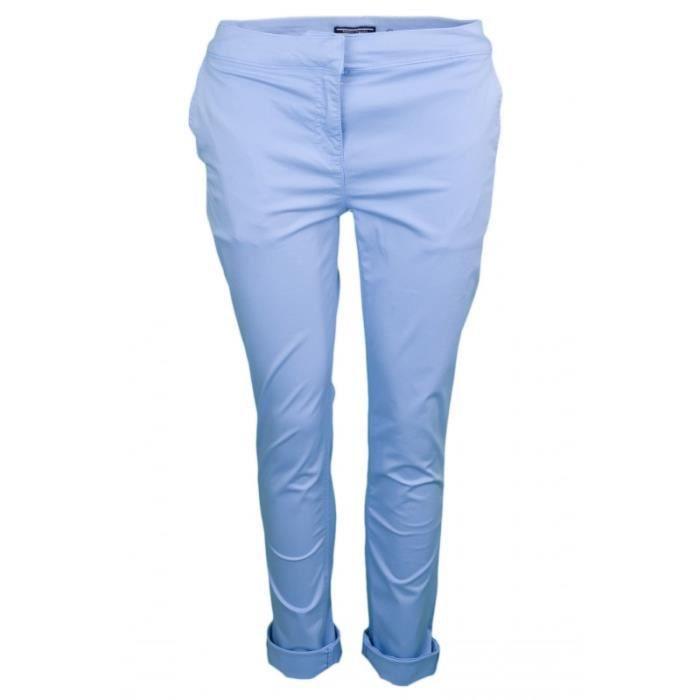 770f53893e56 Pantalon chino Tommy Hilfiger Judy bleu pour femme Bleu - Achat ...