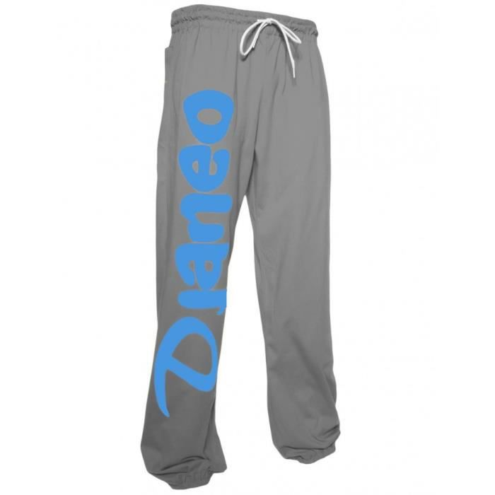 Pantalon Jogging coton Djaneo Rio Homme et Femme pour le sport Gris ... 3ba6c0a9cfe
