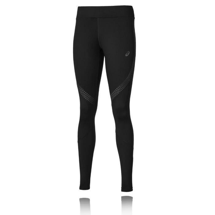 taille 40 d146a e2481 Asics Lite-Show Hiver Running Collant Long Legging Jogging Course Femme Noir