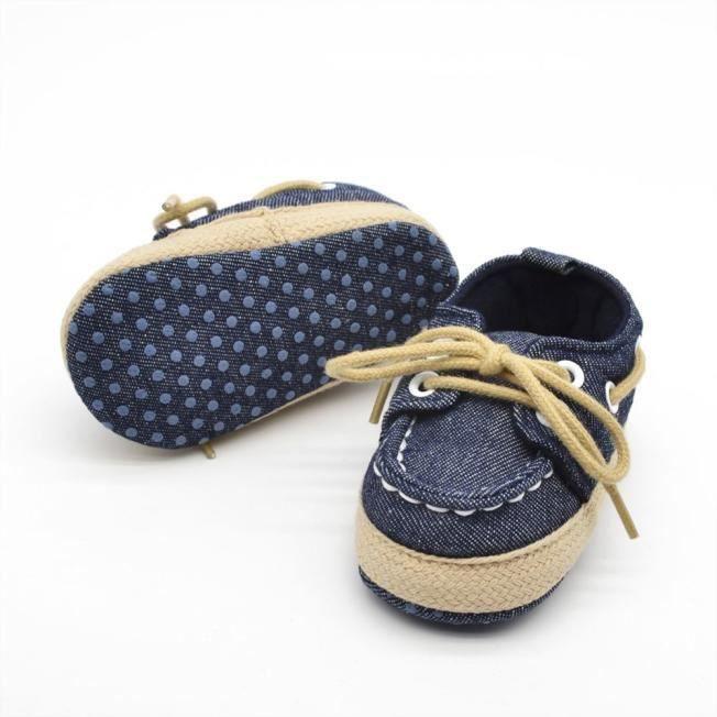 Bébé enfant garçon fille Soft semelle chaussure tout-petits chaussures blanc jAgznoRi