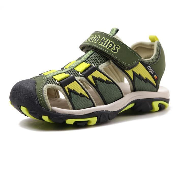 a43f6a435df9c SANDALE - NU-PIEDS Stars® Sandales Garçon Enfant Été Chaussures de Sp
