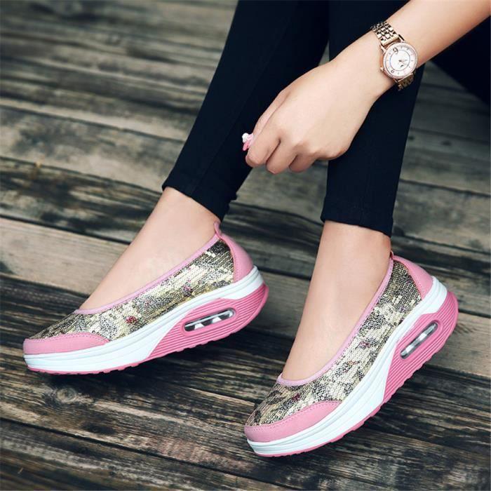 Arrivee on Nouvelle Confortable Qualité Slip Sneakers Antidérapant Chaussures Respirant Supérieure Sandale Femme Durable Q1 uPXZOkiT