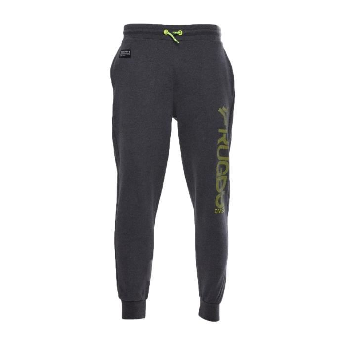 371fe22a1f6aa RUGBY DIVISION Pantalon Jogging Night Homme Anthracite - Achat ...