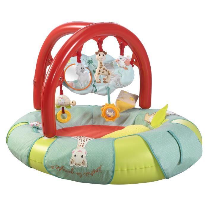 sophie la girafe tapis d 39 activit s gonflable cocoon 39 aire avec 2 arches cocoon 39 aire achat. Black Bedroom Furniture Sets. Home Design Ideas