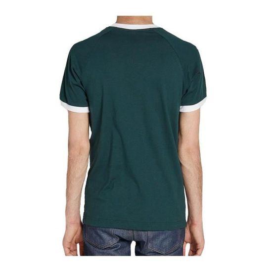 fc1648d27b5e3c Adidas - Adidas Clfn Tee Homme T-Shirt Vert foncé Vert Vert - Achat ...