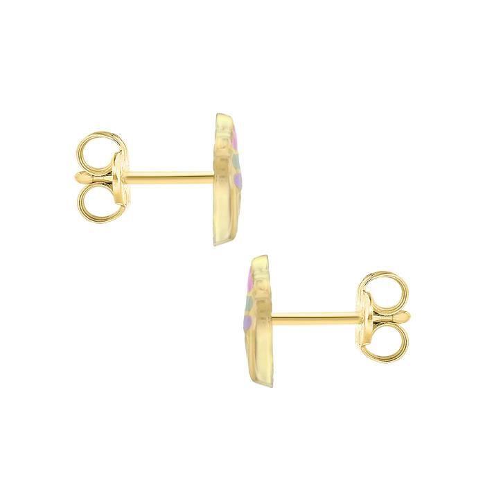 Carissma Gold - Boucles Doreilles - Or Jaune 9 Cts - 1.55.8259 SDIH5