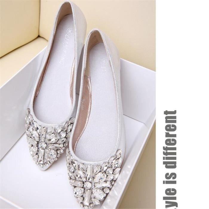 Moccasins Femme Cool Meilleure Qualité Nouvelle arrivee Moccasin Marque De Luxe plates chaussures Poids Léger Grande Taille 35-40