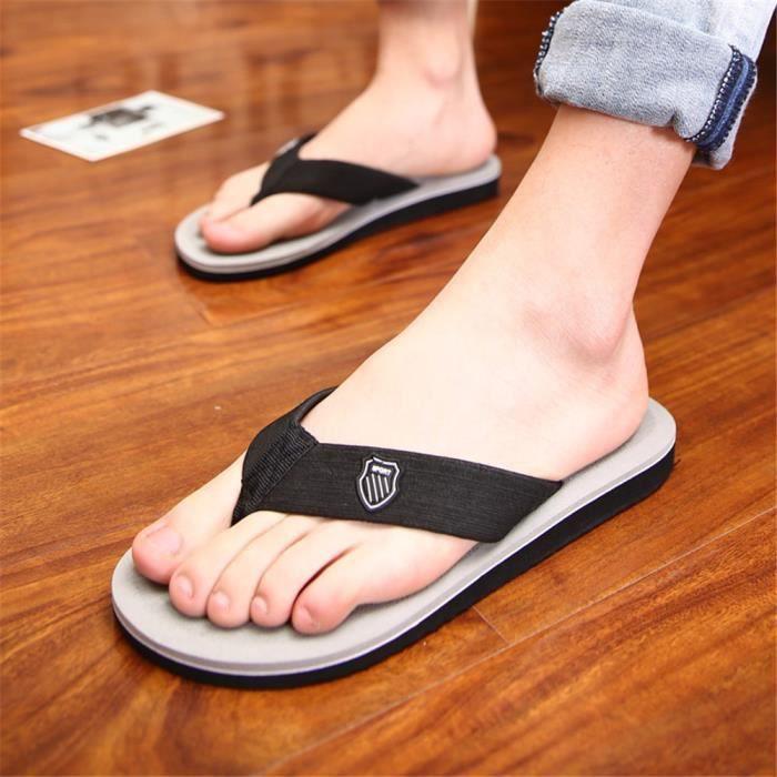 tongs sandale Haut qualité hommes de chaussures d'été sandales Poids Léger Antidérapant sandales hommes de marque Plus De Couleur