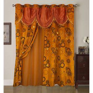rideaux orientale achat vente pas cher. Black Bedroom Furniture Sets. Home Design Ideas