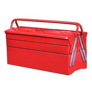 BOITE A OUTILS Boîte à outils en métal Caisse à outils boîte de r